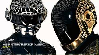 Daft Punk  |  HARDER BETTER FASTER STRONGER (HLM Remix)