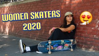 Best Women Skaters | 2020 | Skate Compilation |Skateboarding Videos | Girl Skaters