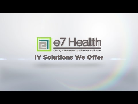 IV Solutions We Offer