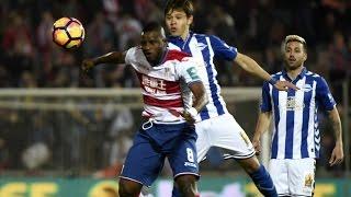 Video Gol Pertandingan Granada vs Deportivo Alaves