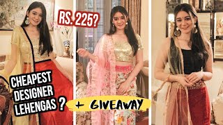Amazon Lehenga Shopping Haul | Lehenga Shopping Online | Amazon Lehenga Review | Online Lehengas