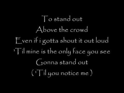 Stand out   lyrics
