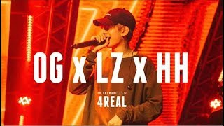 4REAL : LAZYLOXY x OG-ANIC x HIGHHOT | RAP IS NOW