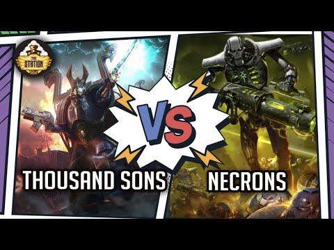 NECRONS Vs 1000 SONS I Battlereport 1000pts I Warhammer 40k