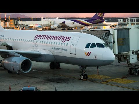 FULL FLIGHT | Eurowings (Germanwings) | Airbus A319 | Stuttgart - Milan