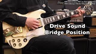 ~60th Anniversary~ 1961 Les Paul SG Custom Sideways Vibrola VOS -Polaris White-【商品紹介@Guitar Planet】
