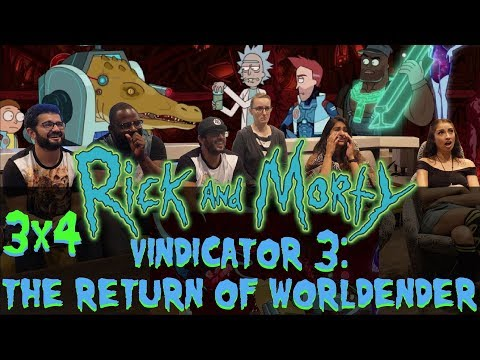 Rick and Morty - 3x4 Vindicators 3: The Return of World Ender - Group Reaction