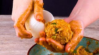 Фаршированный Лук С Курицей: Отличный Рецепт Для Горячей Закуски