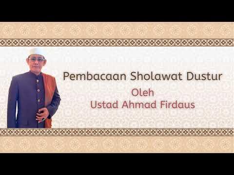 Pembacaan Sholawat Dustur Ustad Ahmad Firdaus