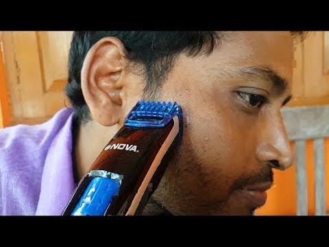 NOVA NHT-1085 PROFESSIONAL TRIMMER UNBOXING AND FULL REVIEW