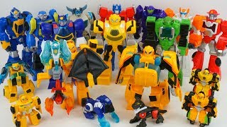 Transformers Rescue Bots Bumblebee Rescue Guard Police Car Knight Watch Academy Collection