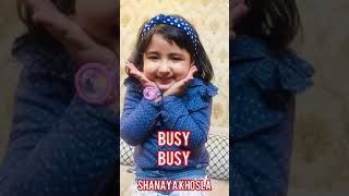 Busy Busy |Nimrat Khaira | Punjabi song | cute kids | trending song