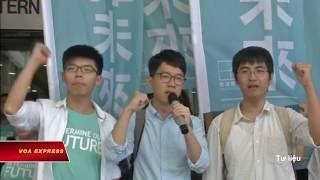 Nhà hoạt động trẻ Joshua Wong được đề cử Giải Nobel Hòa bình
