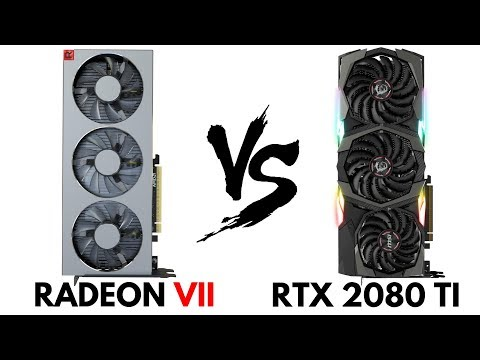 Radeon 7 Vs Rtx 2080 Ti Rtx 2080 Ti Vs Radeon 7 Radeon Vii Vs Rtx 2080 Ti Comparison H Tech Youtube