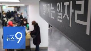 단기·노인 일자리만 늘리더니…청년층, 고용한파 '직격탄' [뉴스 9]