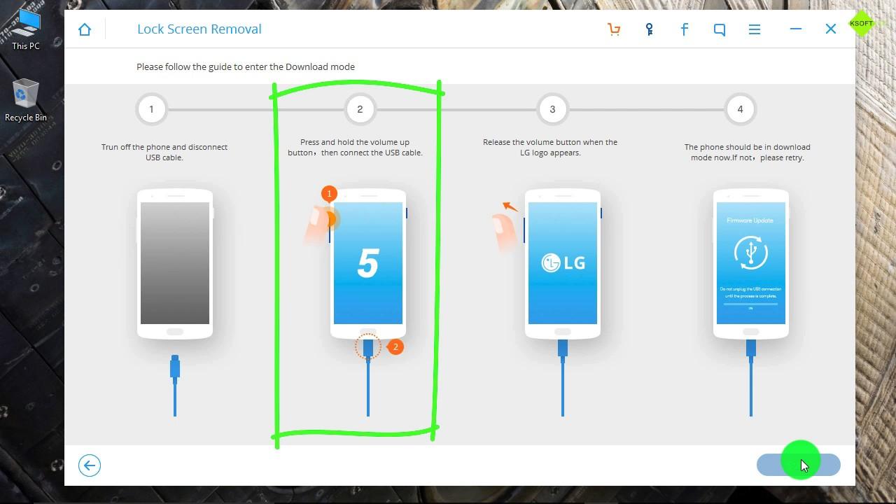 How to Unlock LG G4 Stylus when Forgot Password ?