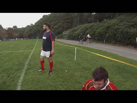 RUGBY ANKLE INJURY - Sports Therapist POV