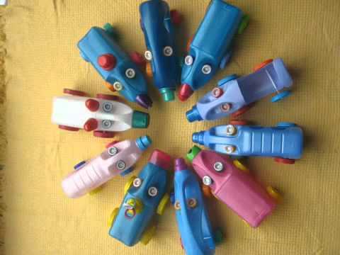 видео: Поделки из пластиковых бутылок