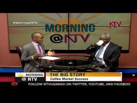 Robert Kabushenga speaks on the coffee market success in Uganda