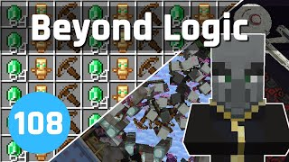 Raid Farm in the End - Beyond Logic #108 (Let's Play) | Minecraft 1.14
