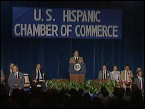 President Reagan's Remarks to the US Hispanic Chamber of Commerce on August 12, 1983