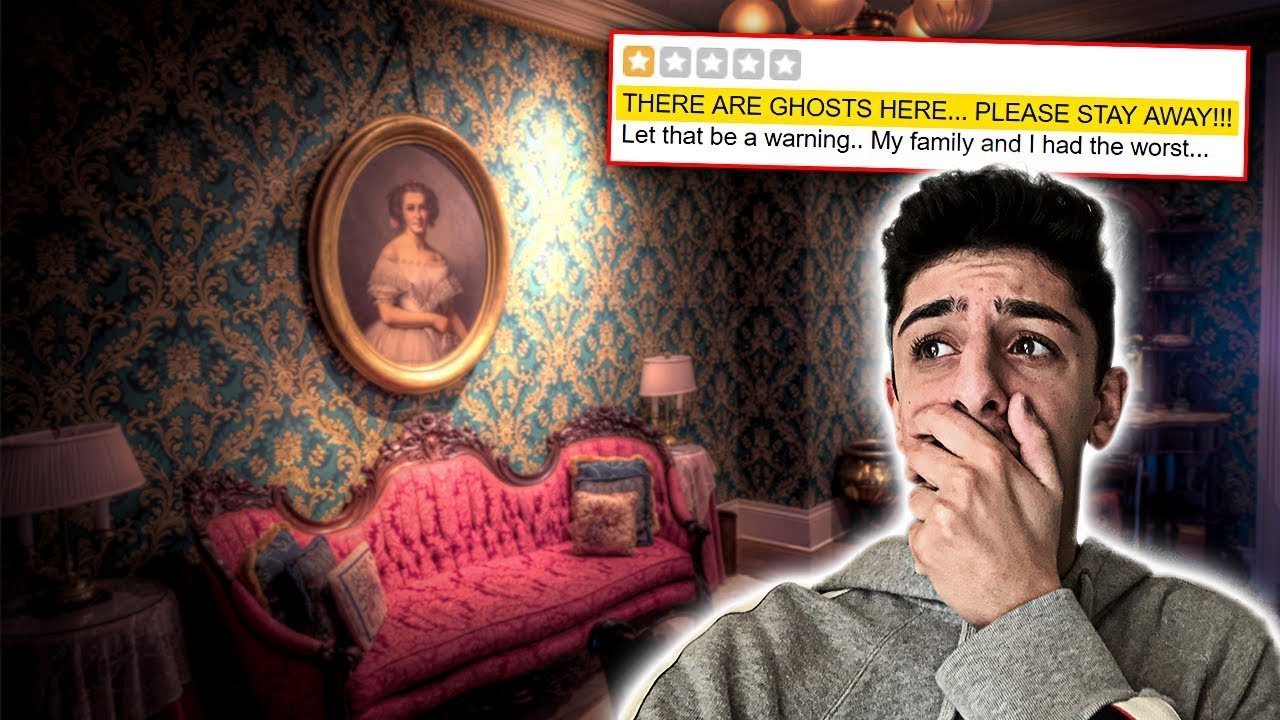 Staying at the Most HAUNTED REVIEWED HOTEL in my City! **I REGRET IT**