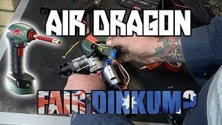 is the Air dragon portable air compressor Fair dinkum? A review.