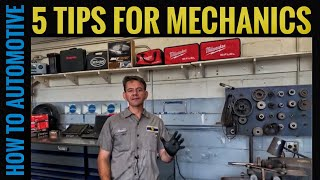 5 Tips for a Mechanic