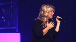 "Natalie Grant singing ""In Christ Alone"" Live @ Sunset Christian Center"