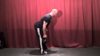 Kettlebell One-Arm Row Instruction