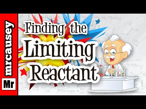 How to Calculate Limiting Reactant and Moles of Product - Mr. Causey's Chemistry