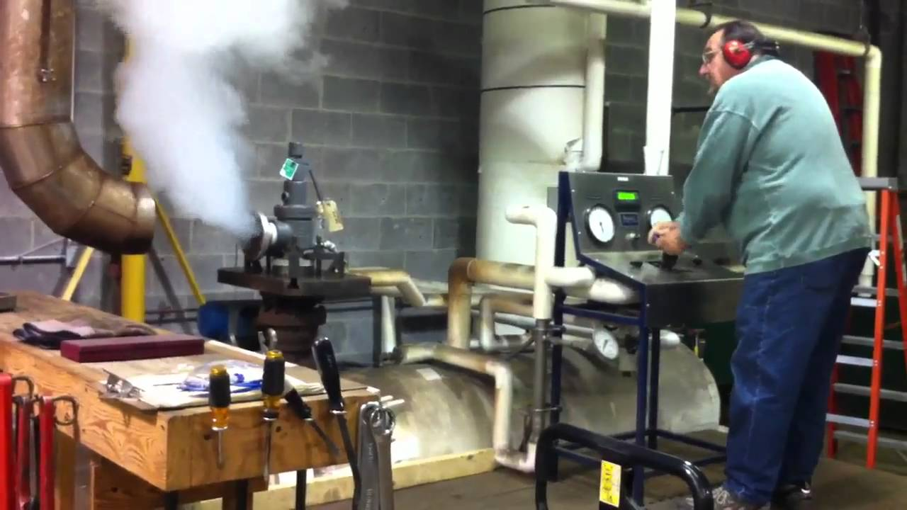 Psv Boiler Test Stand Youtube