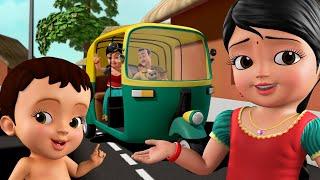 ಬನ್ನಿ ಆಟೋದಲ್ಲಿ ಹೋಗೋಣ   Auto Rickshaw Song   Kannada Rhymes for Children