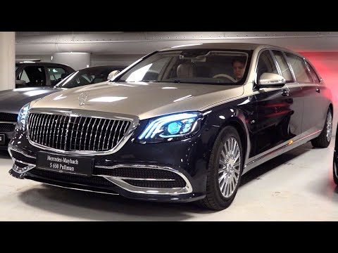 2020 Mercedes Maybach S650 Pullman Limited 1 of 2 – V12 Full Review Interior Exterior Security