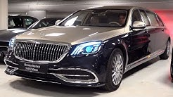 2020 Mercedes Maybach S650 Pullman Limited 1 of 2 - V12 Full Review Interior Exterior Security