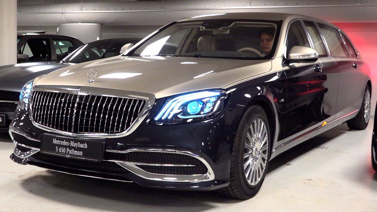 2020 Mercedes Maybach S650 Pullman Limited 1 Of 2 V12 Full Review Interior Exterior Security Youtube