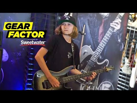 13-Year-Old Crushes Opponents at Guitar Shred Competition