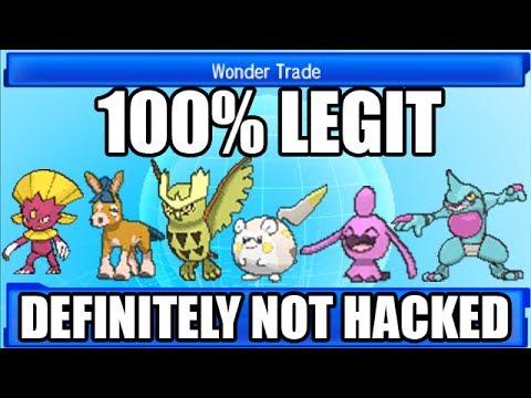 FULL HACKED POKEMON TEAM! 100% LEGIT ( ͡° ͜ʖ ͡°)