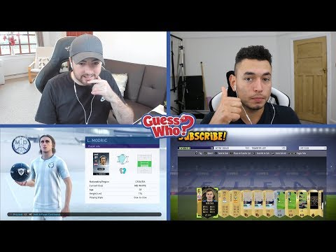 PES vs FIFA  GUESS WHO? SPECIAL vs OAKELFISH