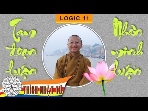Logic học Phật giáo (2007) - Bài 11: Tam đoạn luận và nhân minh luận