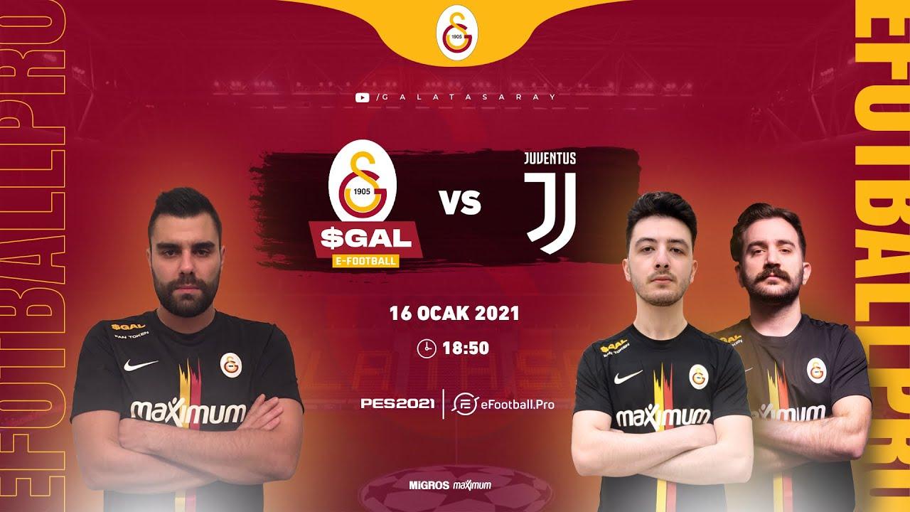 🔴 📺 Galatasaray vs Juventus | eFootball.Pro 2. Hafta Karşılaşması