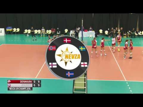 Day 1 Girls Court 1 Denmark v Norway