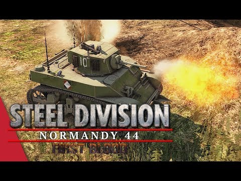 (SDL Code S Quarter Finals) Bumblebeepotato vs Walther, Game 2! Steel Division: Normandy 44