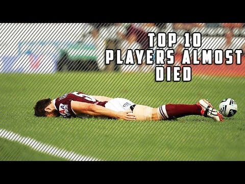 Top 10 Football Players Who Almost Died On Field HD