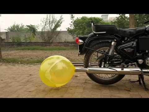 Bullet pataka (balloon explosion)