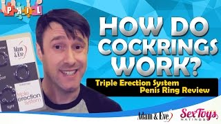 Adam & Eve Triple Erection System Penis Ring Review
