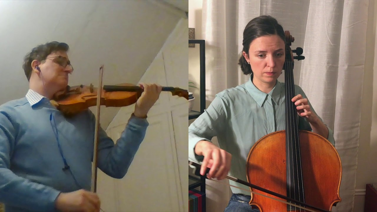 """Simon-Philippe Allard and Catherine Little perform """"Cradle Song"""""""