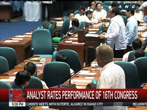How well did 16th Congress perform?