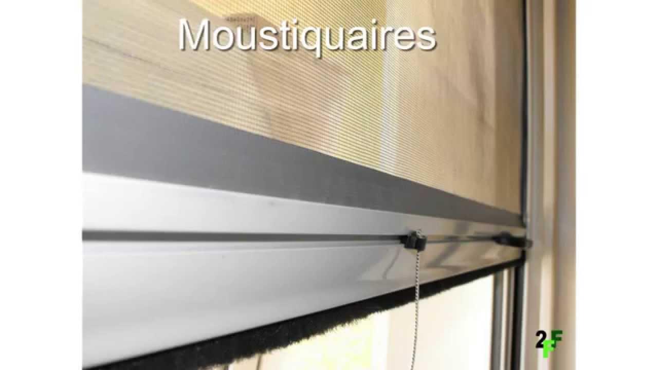 Moustiquaires En Aluminium Au Maroc Moustiquaires Maroc Youtube