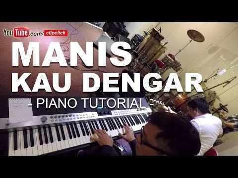 Manis Kau Dengar Tuhan  - WORSHIP PIANO TUTORIAL August 2017